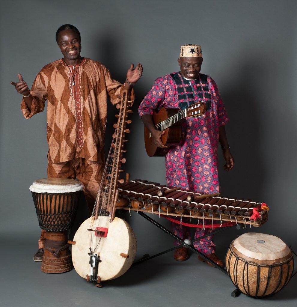 Mori Dioubaté und Mamadou Sanou